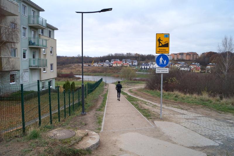 Cudowna Dyrekcja Rozbudowy Miasta Gdańska - Budowa oświetlenia wokół AE87